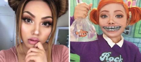 Promise Tamang, se 'transformou' em Darla, da animação infantil Procurando Nemo