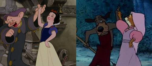 Cena de Branca de Neve reutilizada em Robin Hood. (Foto: Reprodução)