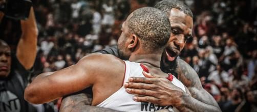 Dwyane Wade sends heartfelt message to LeBron James after last nights game [Image by Clutchpoints / Instagram]
