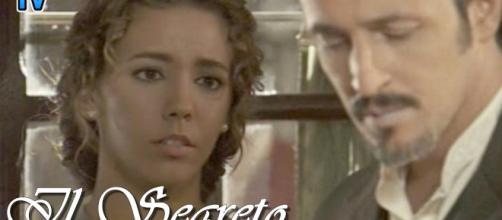 Il Segreto, puntata del 12 dicembre: Emilia e Alfonso fuggono da Puente Viejo