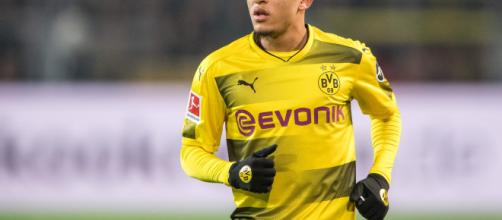 Jadon Sancho n'en finit plus de surprendre.