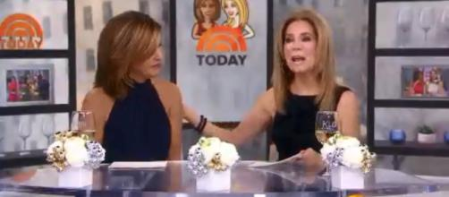 Kathie Lee Gifford announces she will be leaving Today in the spring. [Image source: TODAY- YouTube]