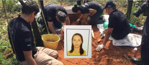 Mulher é assassinada pelo ex-esposo (Divulgação/PCDF)