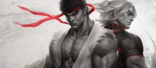 Ryu e Ken em Street Fighter V. (Imagem: Divulgação)