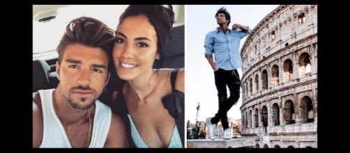 Uomini e Donne: Andrea Damante pubblica una foto con il Colosseo, i fan chiedono che torni da Giulia De Lellis.