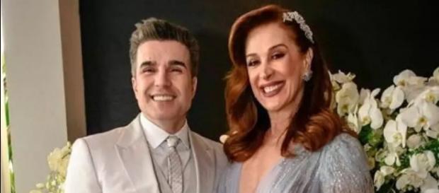 Claudia Raia e Jarbas Homem de Mello (Instagram)