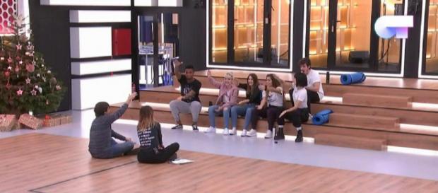 Noemí Galera y Manu Guix reparten los temas de Eurovisión. / RTVE.es