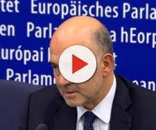 Il commissario europeo Moscovici
