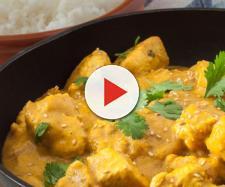 Un piatto a base di pollo al curry ha quasi ucciso un uomo nel Galles.