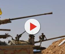 Una postazione militare Hezbollah in Siria
