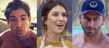 Alexandre Pato, Rebeca Abravanel e Henri Castelli (Reprodução: TV Foco)