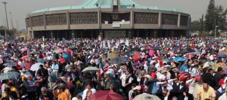 La Basílica de la Virgen de Guadalupe recibió a millones de devotos.