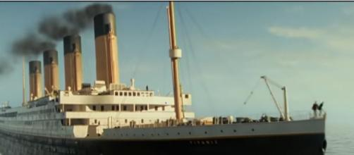 A view of the Titanic. [Image source/CBS Sunday Morning YouTube video]