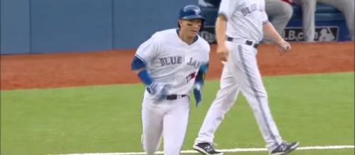 Troy Tulowitzki has been cut by the Blue Jays. - [Canucks and Blue Jays / YouTube screencap]