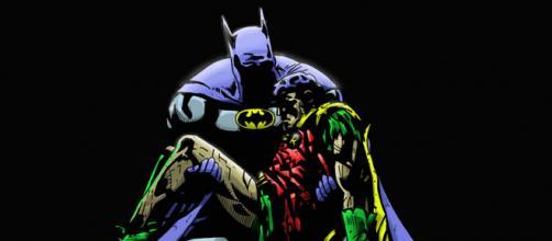 Capa de Batman: Morte em Família. (Artista: George Pérez)