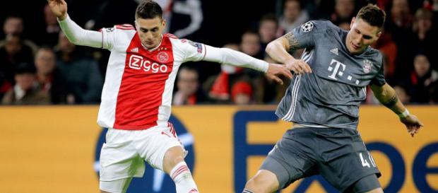 Ajax y Bayern empataron a 3 en duelo vibrante. - fcbayern.com
