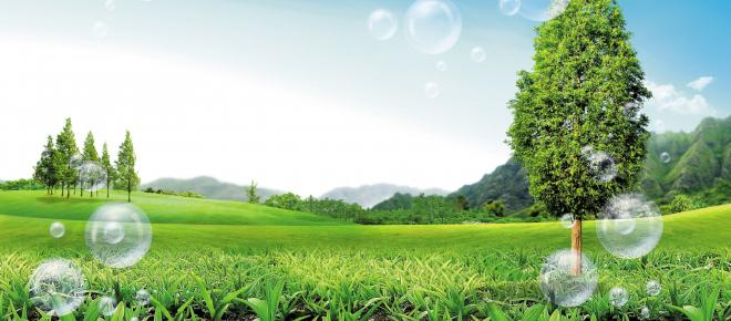 Rispettare l'ecosistema scegliendo i prodotti naturali per ridurre l'inquinamento