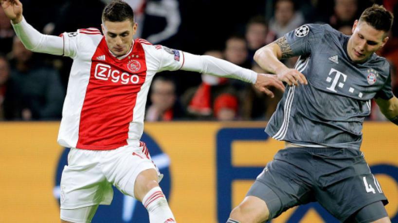 CHAMPIONS/ Ajax y Bayern empatan a 3 en un partido vibrante por la punta del Grupo E