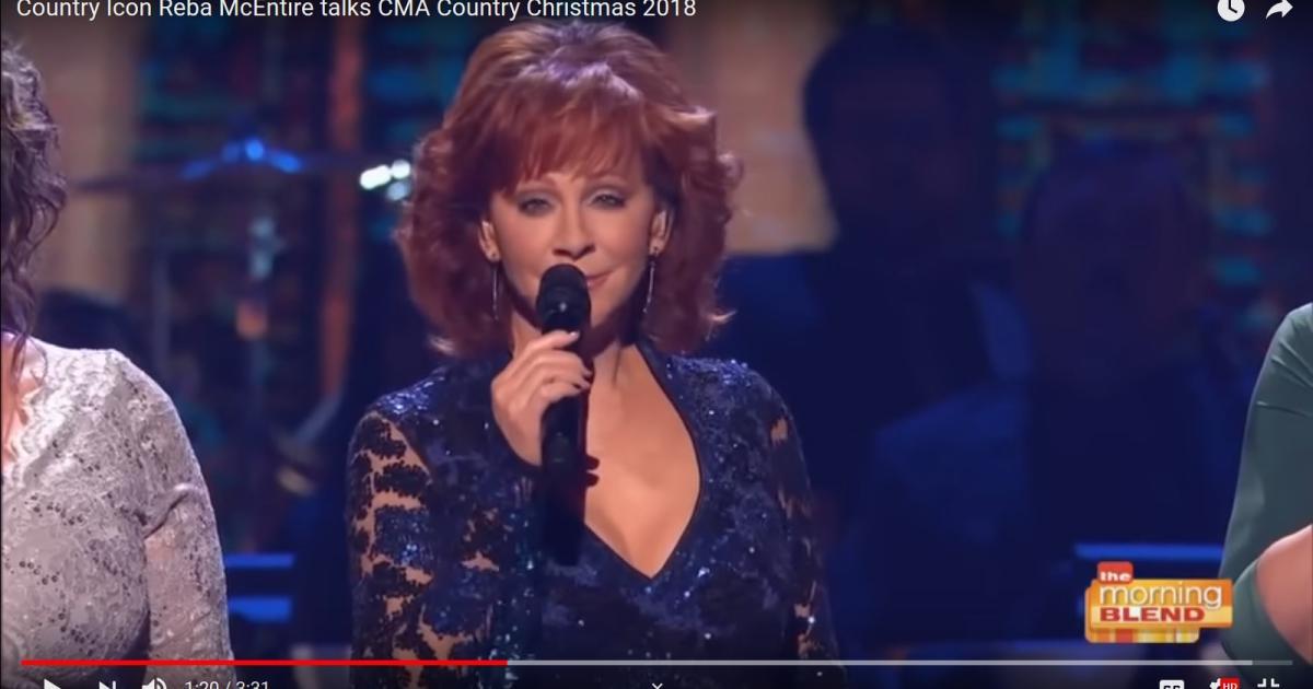 Reba returns to 2018 CMA Country Christmas for a swinging, spiritual ...
