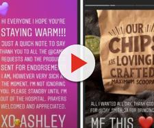 90 day Fiance Ashley marston says in Instagram story that she's sick in hospital. - Image credits - ashleye_90 | Instagram