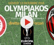 Europa League: Olympiakos Pireo - AC Milan