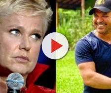 Xuxa não sabia da presença de Eduardo Costa no programa. (Reprodução/Portal Overtube)