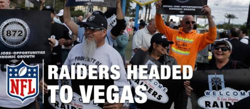Las Vegas will host the 2020 NFL Draft, just a few months before the Raiders play their first game. [Image Credit] NFL - YouTube