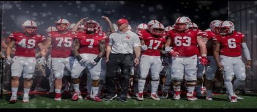 Image of Nebraska football team. - [LK Highlights / YouTube screencap]