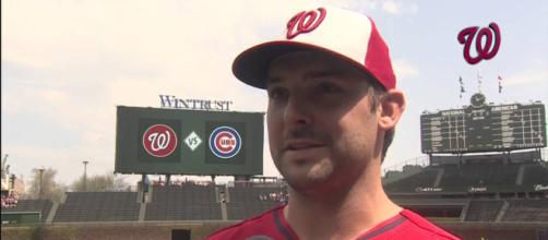 Tanner Roark is being traded to the Cincinnati Reds. [Image Credit] MASN Nationals - YouTube