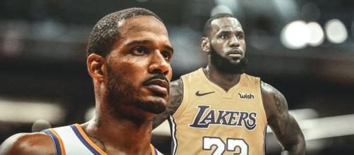 Trevor Ariza and LeBron James [Image by Clutchpoints / Instagram]