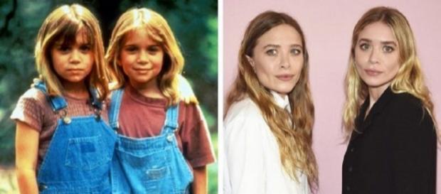 As gêmeas Mary-Kate e Ashley Olsen. (Foto: Reprodução Internet)