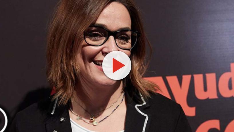 Toñi Moreno habla de Enma García y Nagore Robles en la entrega de premios 'Somos ayuda'