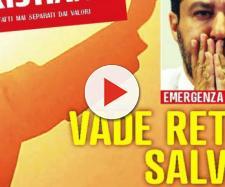 Matteo Salvini contro Famiglia Cristiana
