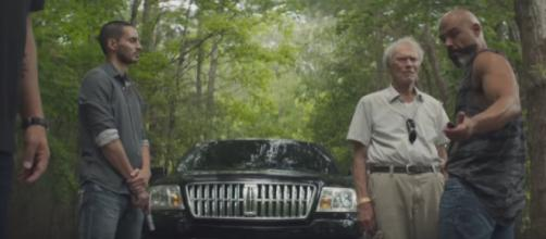 A scene from The Mule Trailer #1. [Image source/Movieclips Trailers YouTube video]