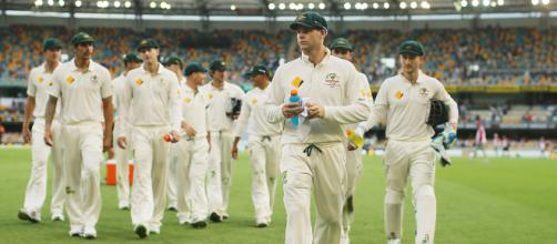 Match Day : Australia v India, 2nd Test, Perth, 1st day | (Image via espncricinfo/Twitter)