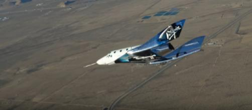 VSS Unity - First Suborbital Flight. [Image source/SciNews YouTube video]