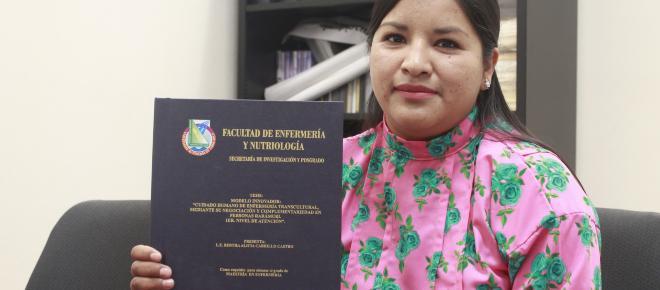 Bertha Alicia, la primera mujer rarámuri en obtener el grado de maestra en Enfermería