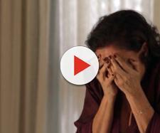 Valentina fica em choque com presente dado por Luz (Reprodução/Globo)
