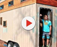 A casa móvel impressiona os que a conhecem. (reprodução/ABC News)