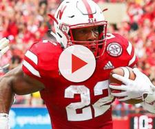 Devine Ozigbo is ranking low in many NFL mock drafts. [Image via Big Ten Network/YouTube]