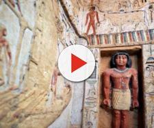 Egitto, rinvenuta la tomba di un sommo sacerdote risalente a 4.400 anni fa