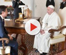 Giuseppe Conte sul suo colloquio privato col Papa - Il Post - ilpost.it