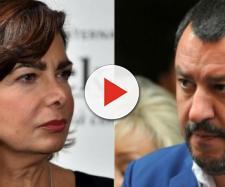Laura Boldrini furiosa con Matteo Salvini