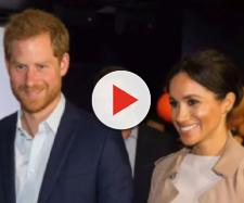Photo of Prince Harry and Meghan Markle. [Image source/Breaking News YouTube video]