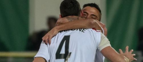 Carpi-Salernitana 3-2: la gioia dei calciatori emiliani, terzo ko di fila per i granata
