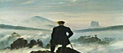 Caspar David Friedrich'sWanderer above the Sea of Fog, 1818 [Caspar David Friedrich | Wikimedia]
