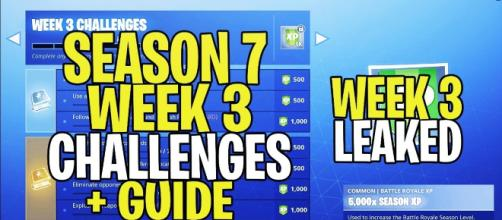 Image from '*NEW* Fortnite SEASON 7 WEEK 3 CHALLENGES' [Image Credit: ImDamaage/ YouTube Screenshot]
