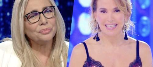 Mara Venier accusata di imitare Barbara D'Urso