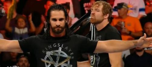 Seth Rollins puts his Intercontinental title on the line against former friend Dean Ambrose at WWE TLC 2018. - [ WWE / YouTube screencap]
