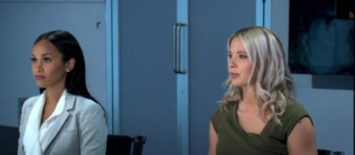 Sian and Camilla face the Final Boardroom (Image credit: The Apprentice/ BBC iPlayer)
